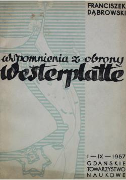 Wspomnienia z obrony Westerplatte