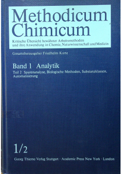 Methodicum Chimicum Band 1 Teil 2