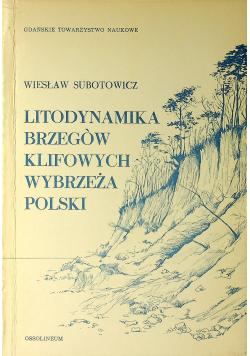 Litodynamika brzegów klifowych wybrzeża polski