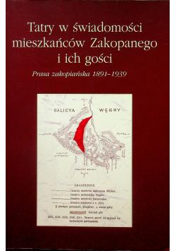 Tatry w świadomości mieszkańców Zakopanego i ich gości