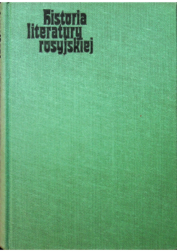 Historia literatury rosyjskiej
