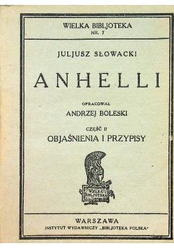 Anhelli część II Objaśnienia i przypisy 1928 r.