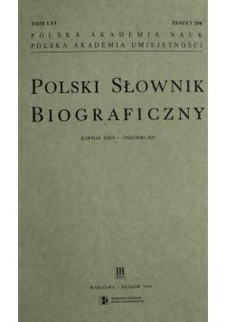 Polski słownik biograficzny tom LI/1-4