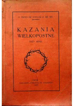 Kazania Wielkopostne 1927 r.
