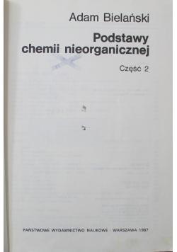 Podstawy chemii nieorganicznej część 2