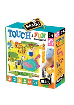 Montessori Dotknij i baw się HEADU