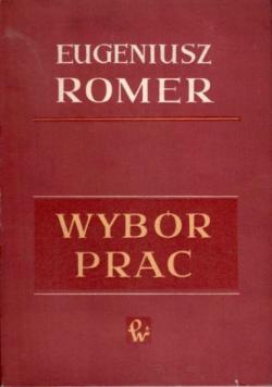Romer Wybór Prac Tom III