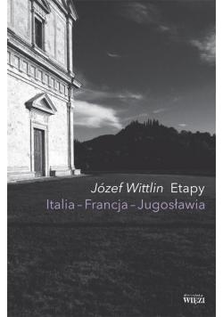 Etapy. Italia - Francja - Jugosławia