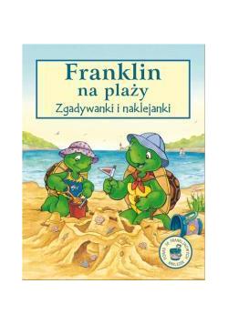 Franklin na plaży - zgadywanki i naklejanki