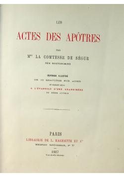 Les Actes Des Apotres 1867r