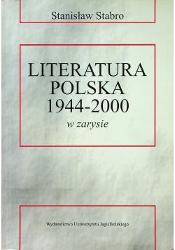 Literatura polska 1944 2000
