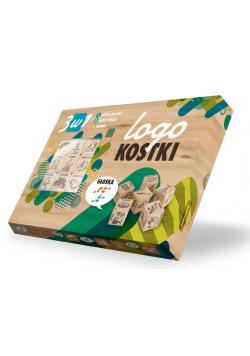"""Logokostki - Głoska """"Ż"""" 3w1"""