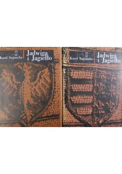 Jadwiga i Jagiełło 2 książki