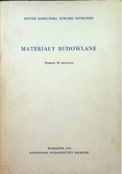 Materiały budowlane wydanie III zmienione