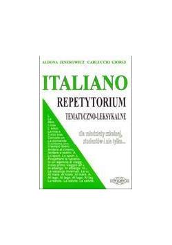 Italiano. Repetytorium tem-leks. WAGROS