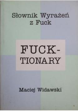 Fucktionary Słownik wyrażeń z Fuck
