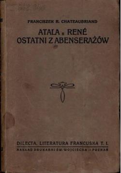 Atala Rene ostatni z Abenserażów 1920r