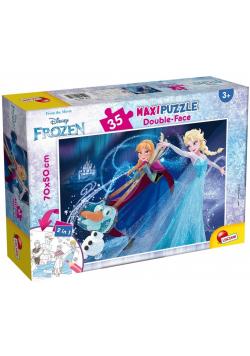 Puzzle dwustronne Supermaxi 35 Frozen