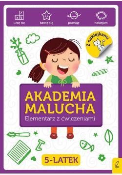 Akademia Malucha Elementarz z ćwiczeniami 5-latek