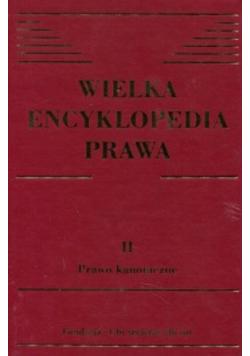 Wielka encyklopedia prawa II prawo kanoniczne