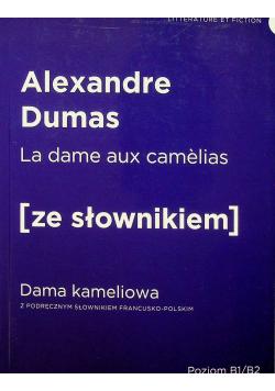La dame aux camelias ze słownikiem