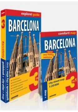 Explore! guide Barcelona 3w1 w.2019
