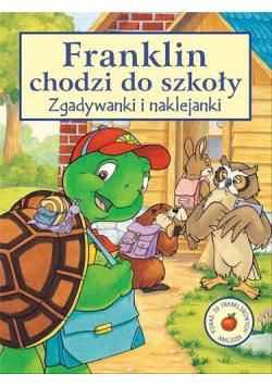 Franklin chodzi do szkoły - zgadywanki i naklejank