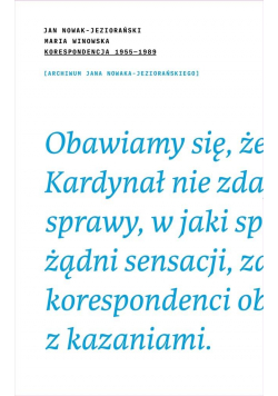 Jan-Nowak J. Maria W. Korespondencja 1995/89