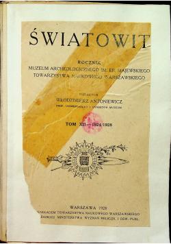 Światowid rocznik tom XII 1928r