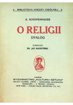 O religii dyalog 1914 r