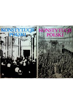 Konstytucje polski 2 tomy