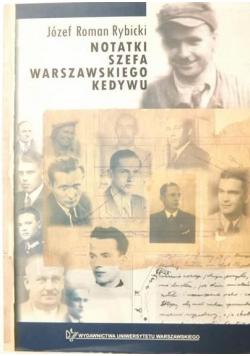 Notatki szefa warszawskiego kedywu