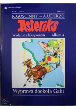 Asteriks Wyprawa dookoła Galii Album 4