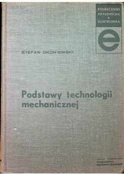 Podstawy technologii mechanicznej