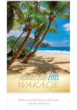 Kalendarz 2021 Reklamowy Słoneczne wakacje RW8