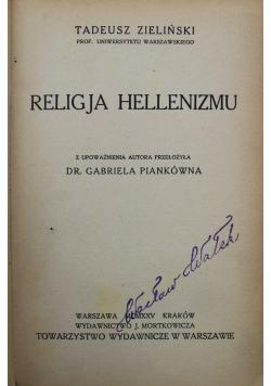 Religia hellenizmu 1925 r.