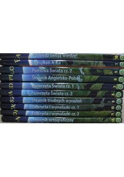 Encyklopedia szkolna  10 tomów