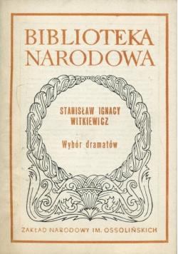 Wybór dramatów Witkiewicz