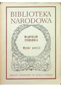 Władysław Syrokomla Wybór poezji
