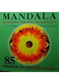 Mandala Buddyjska terapia uspokajająca