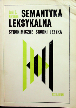 Semantyka leksykalna
