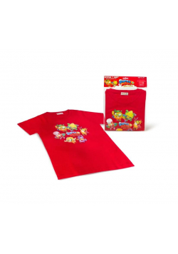Super Zings - T-shirt czerwony