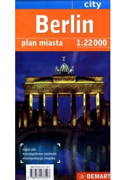 Berlin city plan miasta 1:22 000