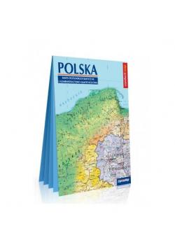 Polska. Mapa ogólnogeogr. i adm.-sam. 1:1 000 000
