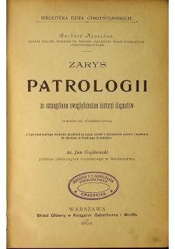 Zarys Patrologii 1904 r