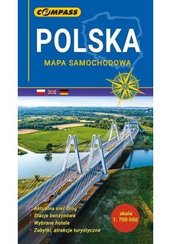 Mapa samochodowa - Polska 1: 700 0000