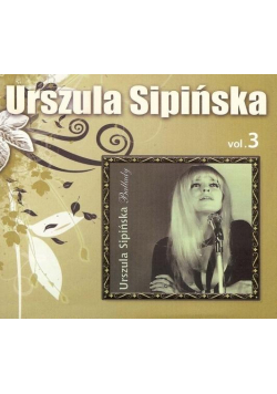 Urszula Sipińska - Antologia vol.3 (Ballady) - CD