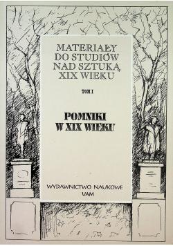 Pomniki w XIX wieku