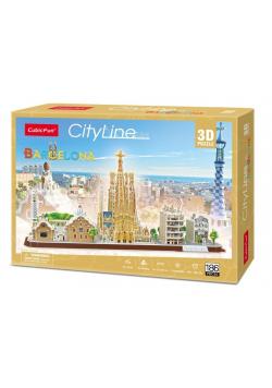 Puzzle 3D Cityline Barcelona