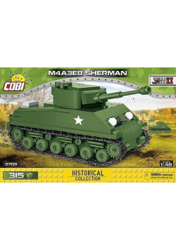 HC WWII M4A3E8 Sherman